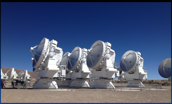 Atacama Large Millimetre (and sub-millimetre) Array Credit: ALMA (ESO/NAOJ/NRAO)