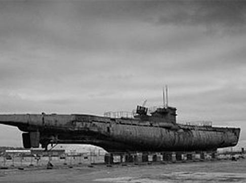 U-534 at Birkenhead dock